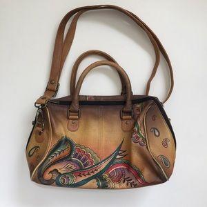 Anuschka Hand Painted Bag.